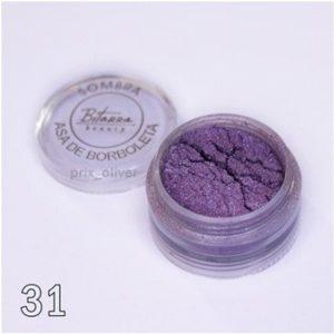Sombra Asa de Borboleta - 31 Glitter - Bitarra Beauty