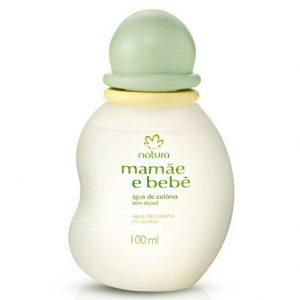 Água de Colônia Sem Álcool Mamãe e Bebê - 100ml - natura