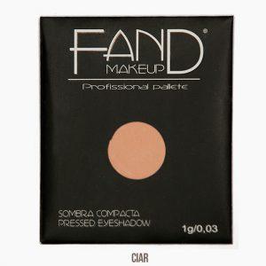 Sombra unitária compacta - Fand Makeup -Ciar - Opaco/Mate