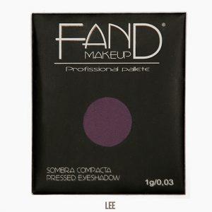 Sombra unitária compacta - Fand Makeup - LEE- FAND MAKEUP