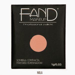 Sombra unitária compacta - Fand Makeup - NOLA- FAND MAKEUP
