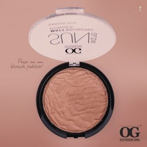 BLUSH SUN GLOW MATT BRONZING POWDER - OG