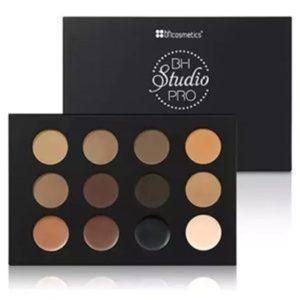 Paleta Para Sobrancelhas Studio Pro Ultimate - Bh Cosmetcs