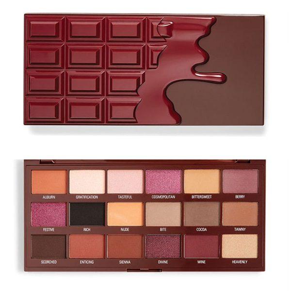 Paleta de Sombra Cranberries And Chocolate Eu Amo Revolution