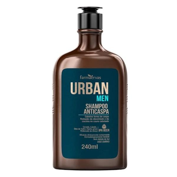 Shampoo Anticaspa Farmaervas URBAN MEN 240M