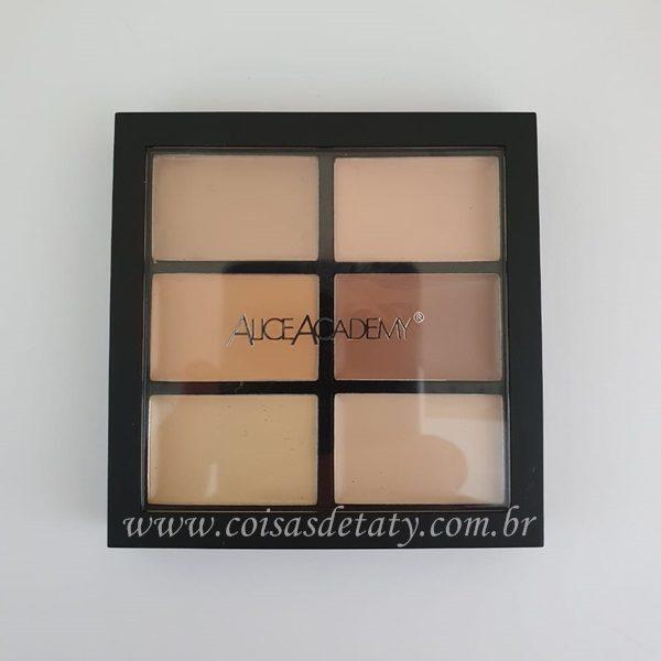 Paleta de Corretivo e Contorno - 01 Light - AliceAcademy