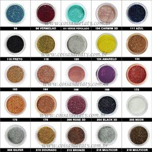 Sombra Asa de Borboleta - 40 Glitter - Bitarra Beauty