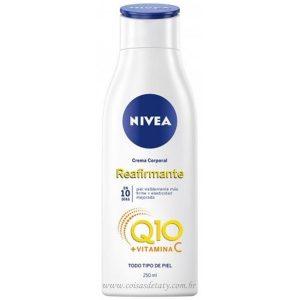 Hidratante Firmador Q10+vitamina C 200ml Todos tipos Pele - Nivea