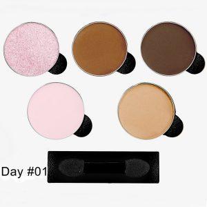 Paleta de Sombra GLAM DAY #01 Com 5 Cores - Indice Tokyo
