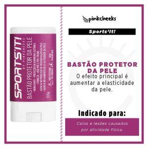 Bastão Protetor de Pele Sports'It - PINK CHEEKS