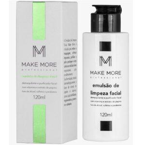 Emulsão de Limpeza Facial 120 ml - Make More