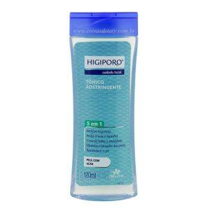Tônico Adstringente Pele Com Acne 120 ml Higiporo - Davene