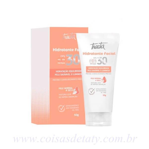 Hidratante Facial FPS30 Normal/Seca 50g - Tracta