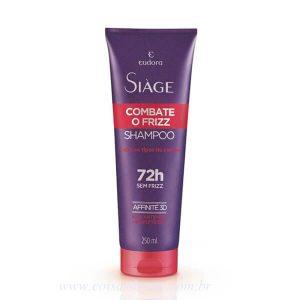 Shampoo Siage de Combate Ao Frizz 250ml - Eudora