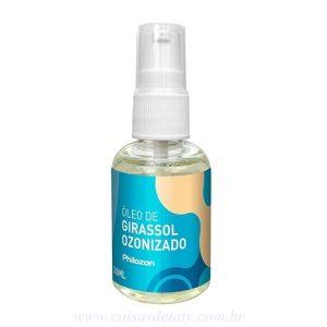 Óleo de Girassol Ozonizado 30ml - Ozoncare