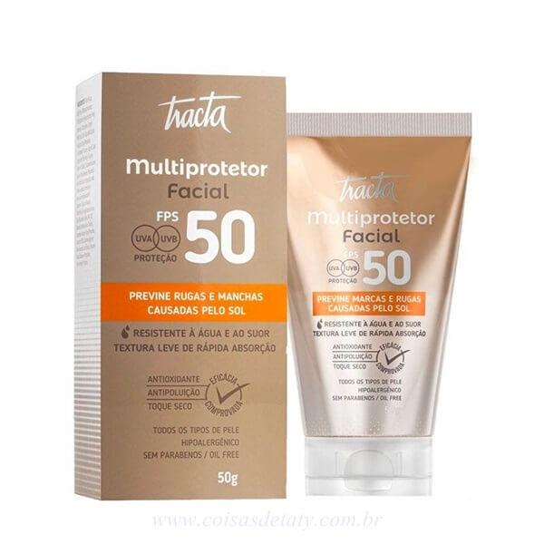 Multiprotetor Facial FPS50 50g - Tracta