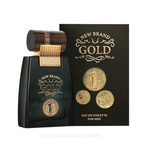 Gold Eau de Toilett 100ml New Brand Coisas de Taty