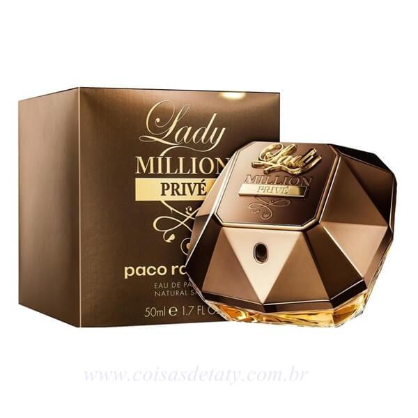 Lady Million Privé Eau de Parfum 50ml - Paco Rabanne