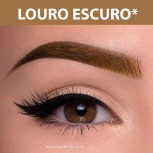 Henna Para Sobrancelhas Louro Escuro 2,5g - Hintz Cosmetics