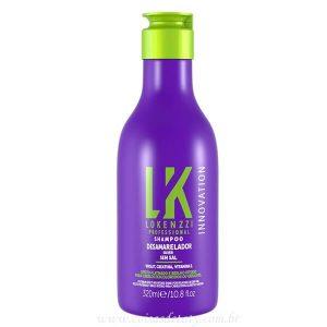 Shampoo Desamarelador 320ml - Lokenzzi