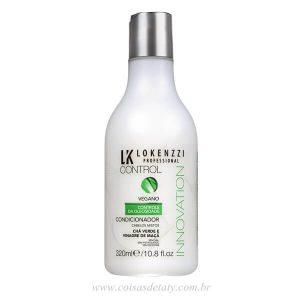Condicionador Vegano Cha Verde/Vinagre Maçã 320ml - Lokenzzi