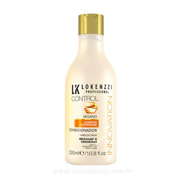 Condicionador Vegano cabelos Finos 320ml - Lokenzzi