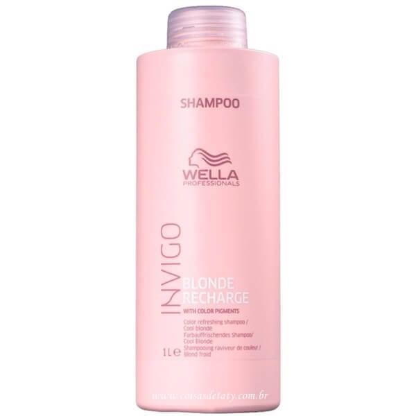 Shampoo Indigo Blonde 1000ml - Wella