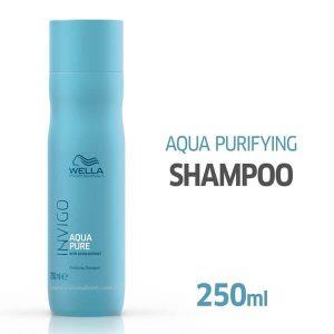 Shampoo Invigo Balance Aqua Pure Antirresíduos 250ml - Wella