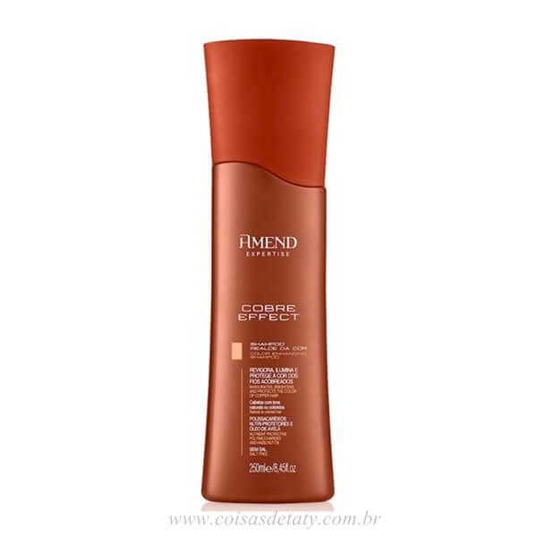 Shampoo Realce da Cor Cobre Effect 250ml - Amend