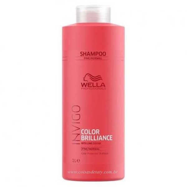 Shampoo Professionals Invigo Color Brilliance 1000ml - Wella