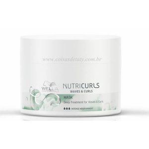 Máscara de Nutrição Intensa Professionals NutriCurls 150ml - Wella