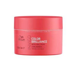 Máscara Professionals Invigo Color Brilliance 150ml - Wella