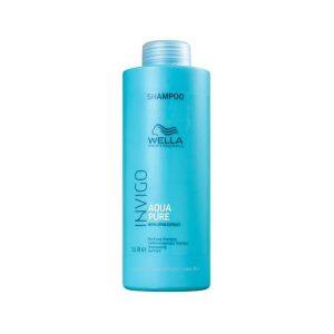 Shampoo Invigo Balance Aqua Pure Antirresíduos 1000ml - Wella
