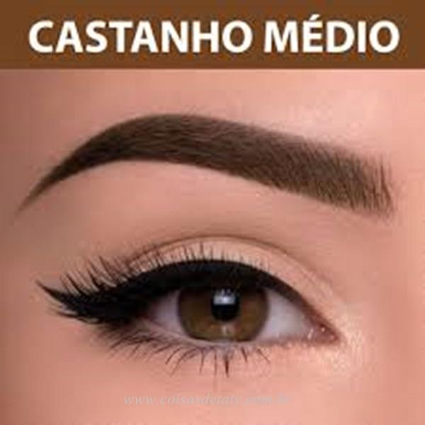 olho-castanho Medio-expressao-facial