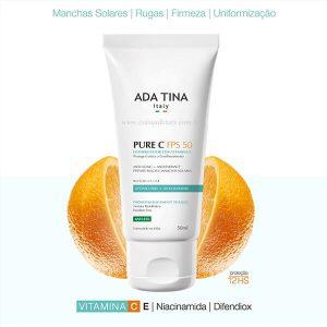 Protetor Solar com Vitamina C Pure C FPS 50 50ml - ADA TINA